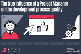 EVNE Developers blog - influence of the PM on development quality