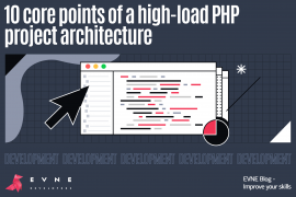 EVNE Developers blog - the architecture of a high load PHP product