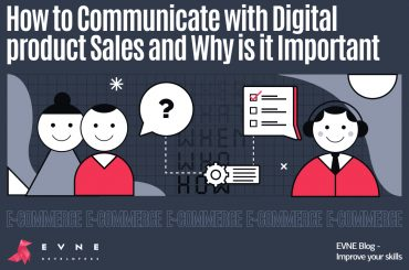 E-Commerce - EVNE Developers blog - communication with sales person before development, how and why